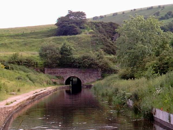 Scout Tunnel, Huddersfield Narrow Canal between Mossley and Stalybridge