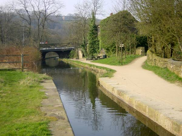 Brownhills Bridge, Huddersfield Narrow Canal, Dobcross, Saddleworth