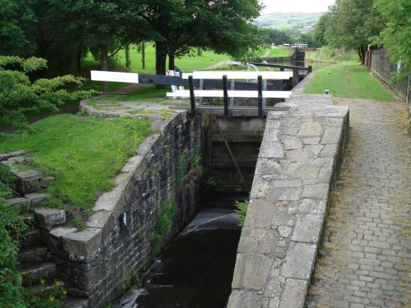 Diggle flight, Huddersfield Narrow Canal, Saddleworth
