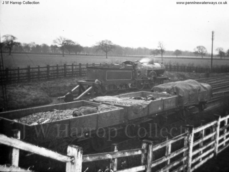 Railway Accident at Chelford - Photo courtesy of Mr J W Harrop