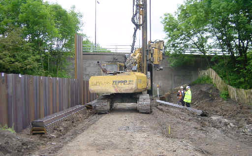 M62 Motorway Crossing, Castleton (2)- Restoration Of The