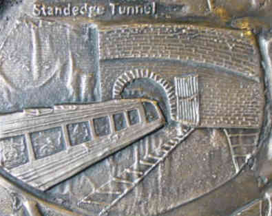 detail from the plaque