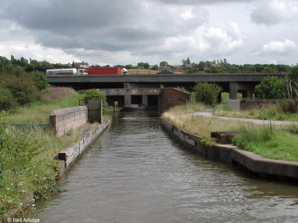 Preston brook canal