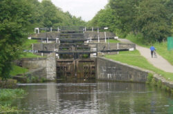 Forge Locks on the Leeds and Liverpool Canal