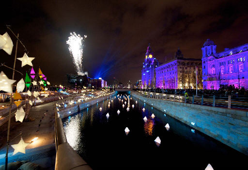 The Liverpool Canal Link at Pier Head was at the heart of the closing festival. Photo: Christian Smith Photography Ltd.