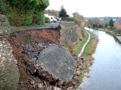 Macclesfield collapse, photo: Debby Francis