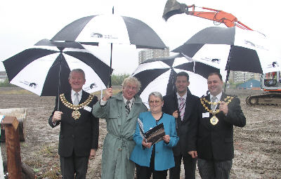 Launch of Middlewood Locks development - Photo: Pennine Waterways