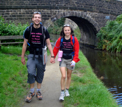 Richard and Rebecca leave Stalybridge and head for the hills along the Huddersfield Narrow Canal.