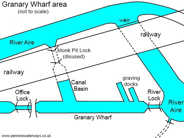 granary wharf leeds lock and granary wharf virtual journey along the leeds and