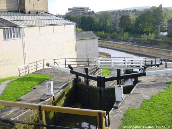 Bingley Three-Rise Locks