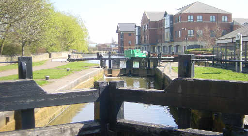 Lock 87 on the Leeds and Liverpool Canal