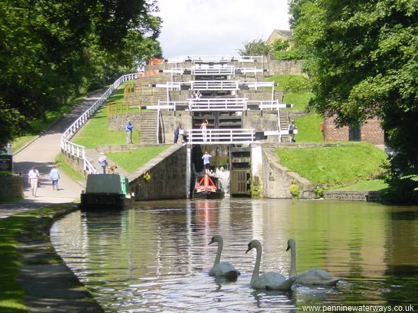 Things to do in bradford Bingley Five Rise Locks
