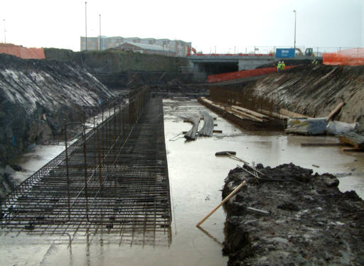 River Irwell To East Ordsall Lane On The